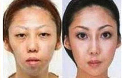 Pani Feng przed i po