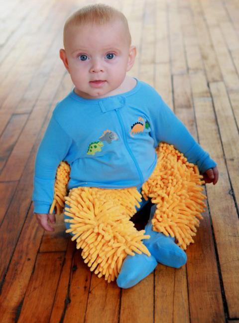 BabyMop w stanie spoczynku