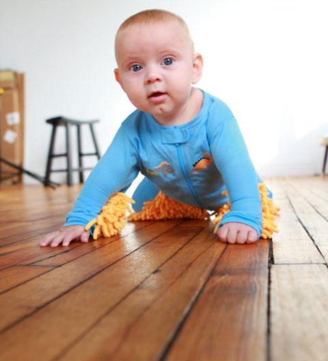 Baby Mop w akcji